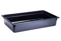 GN-Behälter, GN 1/1, 530 x 325 x 100 mm, Polycarbonat, schwarz