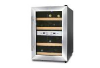 Weinkühlschrank 2 Zonen 12 Flaschen 340 x 555 x 535 mm