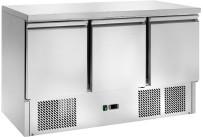 Kühltisch GN 1/1 3 Türen 1365 x 700 x 870 mm