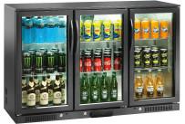 Flaschenkühlschrank 320 l 3 Flügeltüren 6 Roste