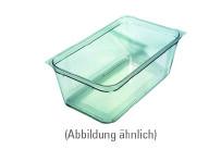 GN-Behälter, GN 1/6, 176 x 162 x 150 mm, Polycarbonat, transparent