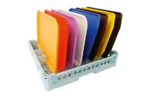Tablettkorb für 8 Fast Food Tabletts / 500 x 500 x 95 mm