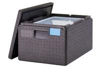 Wärmebox, Toplader, GN 1/1, H=-200 mm, schwarz
