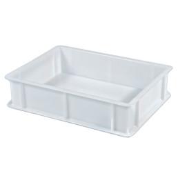Transportbox Polyethylen weiß 300 x 400 x 100 mm