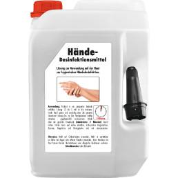 Handdesinfektionsmittel 5 l Kanister mit Ausgießer VPE 1/3 Palette = 32 Kanister