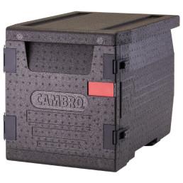 Wärmebox, Frontlader, GN 1/1, 60 l, schwarz