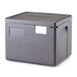 Wärmebox, Toplader, GN 1/2, H=-200 mm, schwarz