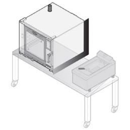 Wärmeschutz-Kit für Kombidämpfer CHEFTOP
