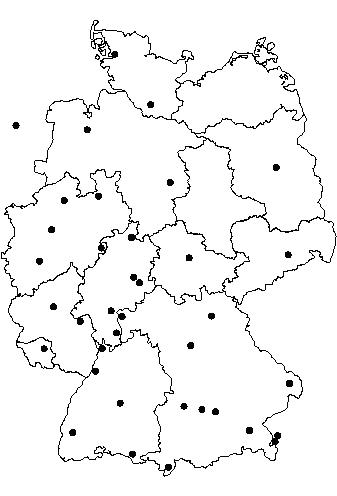 Pentagast Deutschlandkarte